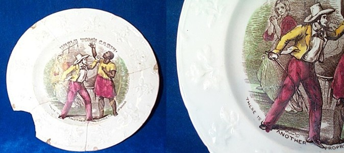 Uncle Tom's cabin plate